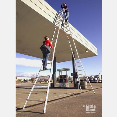 Little Giant Mxz Skyscraper Telescoping A Frame Ladder